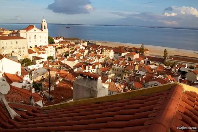 Lisbon on the sea