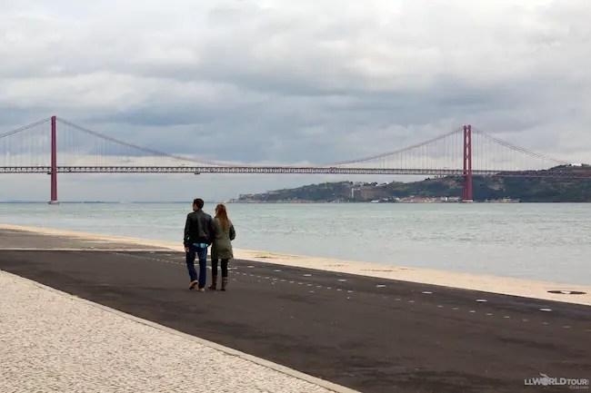 "Lisbon's ""Golden Gate"" Bridge"