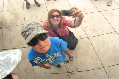 Family Fun at the Bean in Chicago