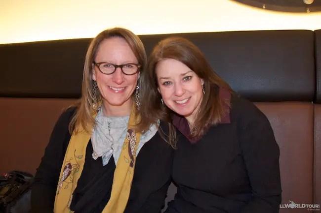 Sherry Ott and Lisa Lubin