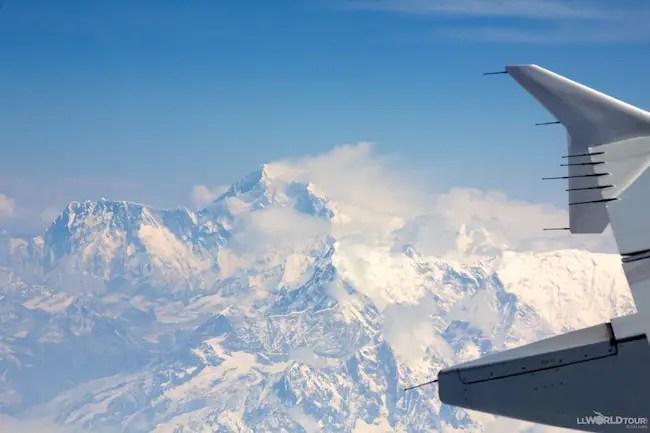 Mt Everest Aerial