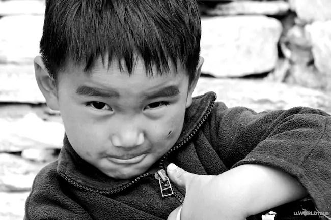 Bashful Bhutan Boy