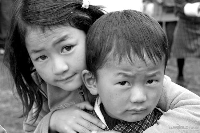 Brother and Sister Bhutan