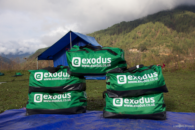 Camping with Exodus