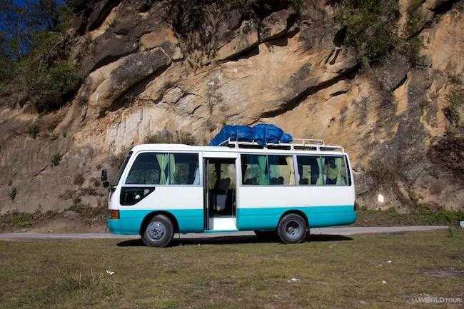 Exodus Travels Bus