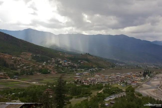 Valley in Bhutan