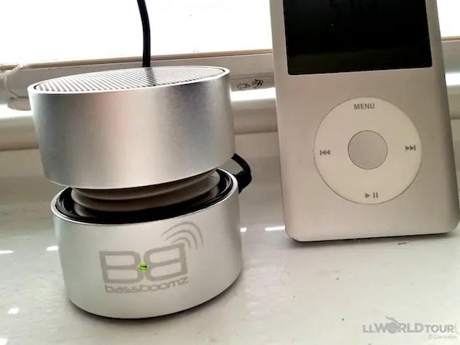 iPod and Bassboomz
