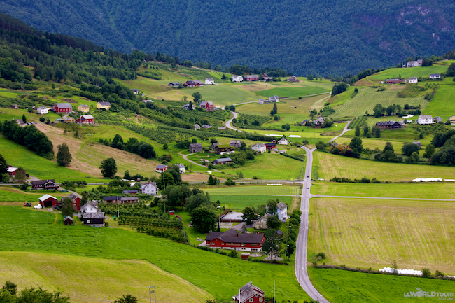 Green Valley of Norway