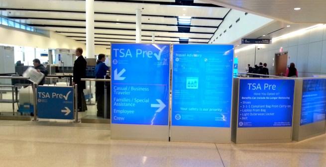 TSA signs