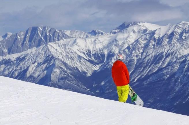 Marmot Basin Snowboarder