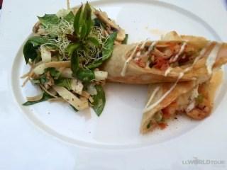 Burrito at Casa Velas