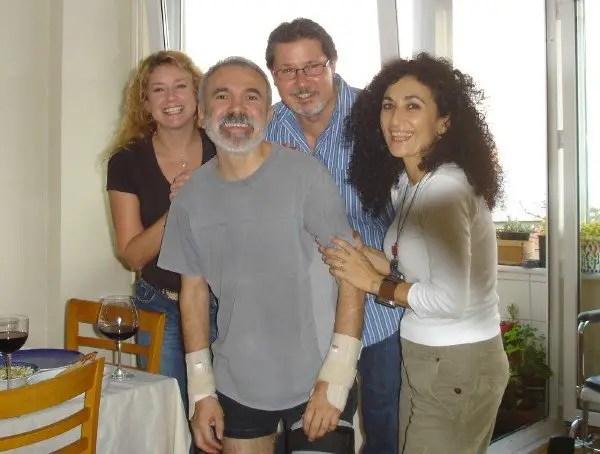 Ahmet, Cigdem, Steve & me