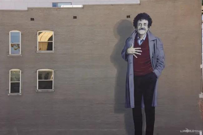 Kurt Vonegat Mural