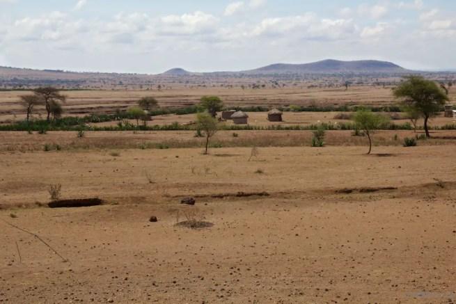 Masai Mud huts