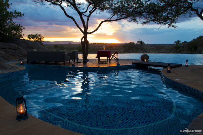 Four Seasons Serengeti Infinity Pool
