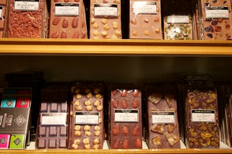 Globus Department store chocolate