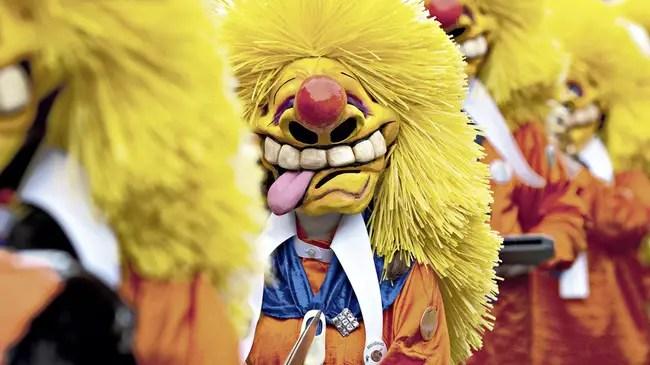 Basel Carnival Parade