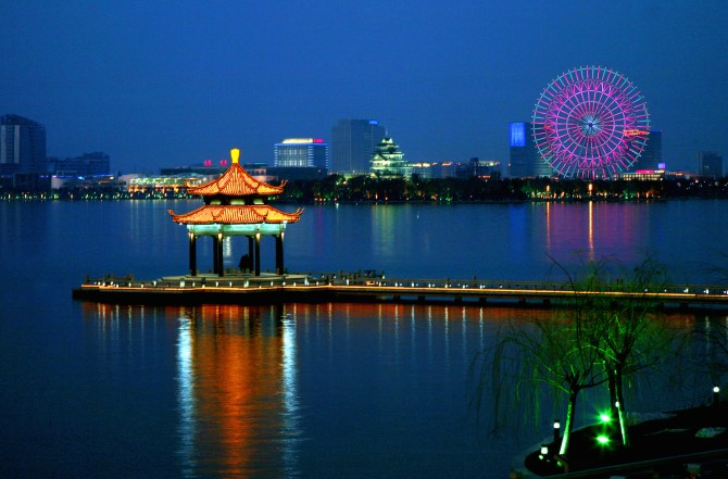 Suzhou Industrial Park and Jinji Lake