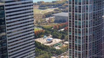 Millennium Park from Kemper Building