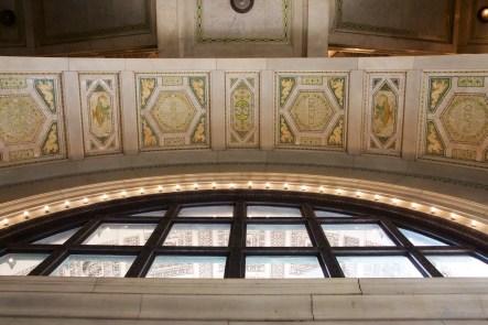 Mosaic Tiles at Cultural Center