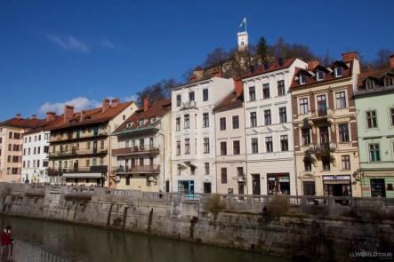 Ljubljana's Riverfront
