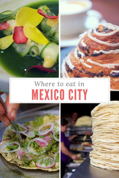 Where to EAT IN Mexico City