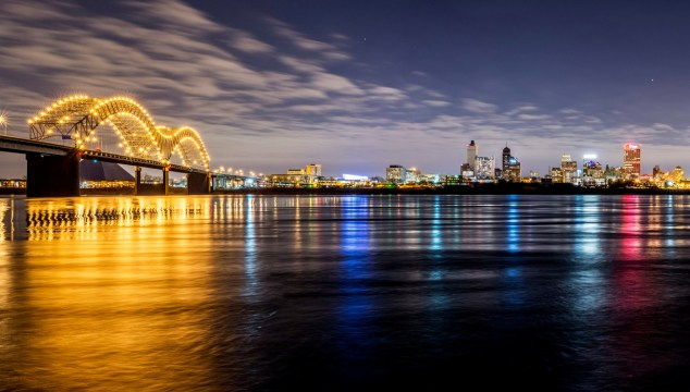 Memphis Panoramic Bridge Photo