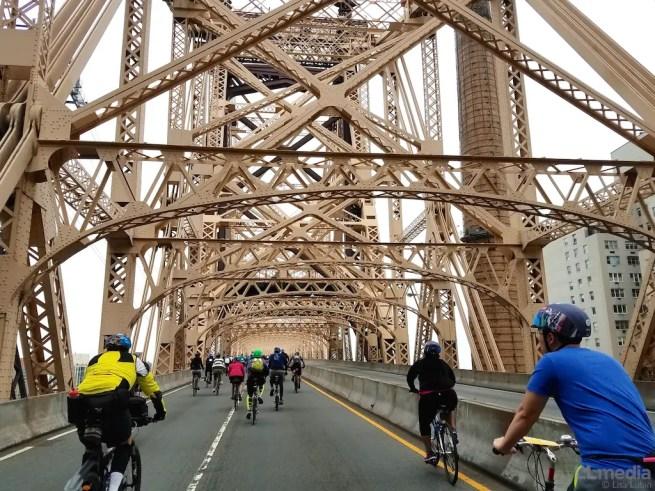 5 Boro Bike Tour Bridge