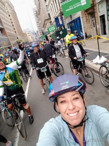 5 Boro Bike Tour Rider