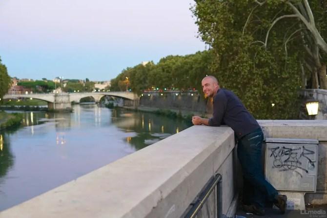 Guy in Rome