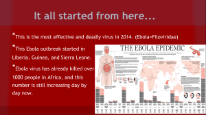 ebola project