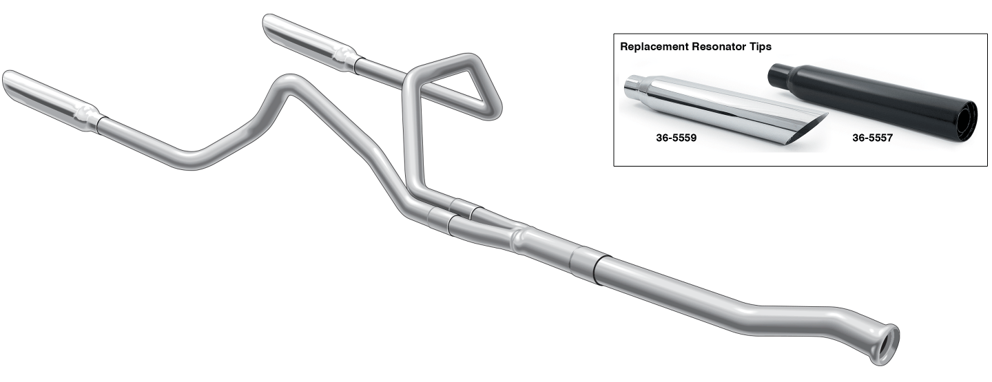 cat back performance dual exhaust