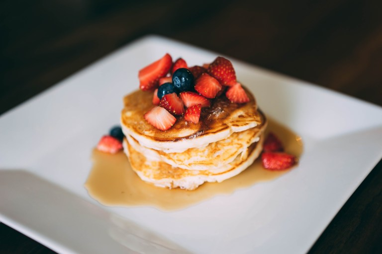 Pancakes au Giraumon