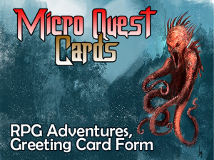 Micro Quest Cards