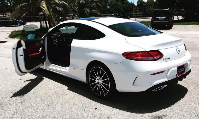 2018 Mercedes Benz C300 Coupe Palm Beach Lease Deals