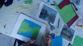 Découpage, collage, dessin...