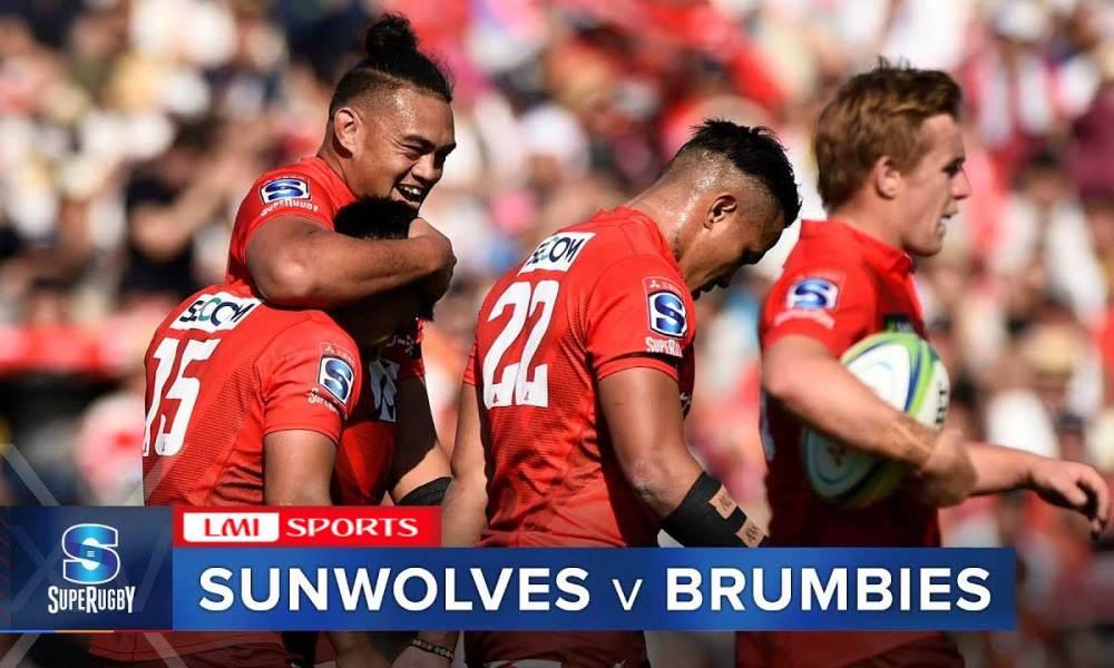 Watch super rugby online free: Sunwolves vs Brumbies Rugby streams 6th Feb 2020