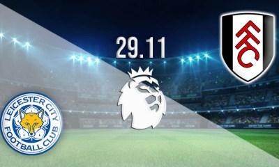 EPL Live: Leicester Cityvs Fulham Soccer Streams Reddit 30 Nov 2020