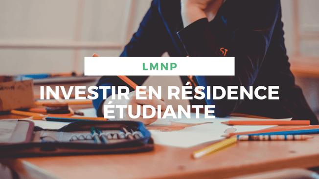 3 1 - Investir en LMNP
