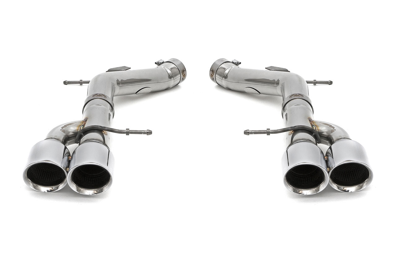 fabspeed fs bmw f10 mbp bmw m5 f10 muffler bypass pipes with polished chrome tips 2011 2016