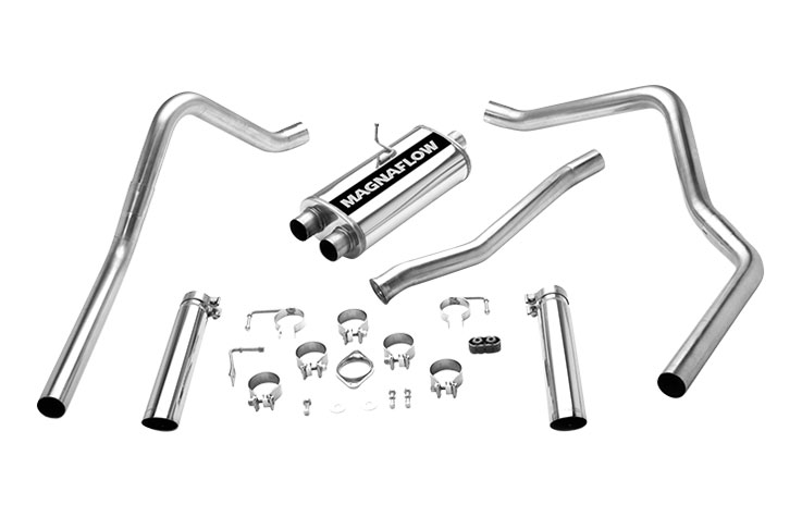 magnaflow 15773 exhaust system for ford ranger super 1998 2007
