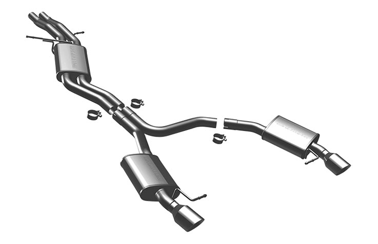 magnaflow 16597 exhaust system for audi a5 3 2l v6 coupe 2009 2009
