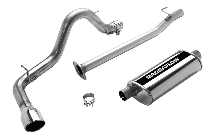 magnaflow 16624 exhaust system for toyota tacoma x runner 2005 2007
