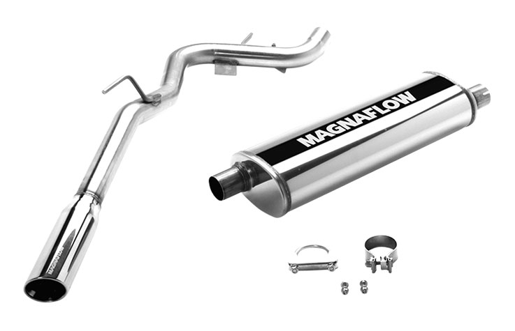 magnaflow 16654 exhaust system for nissan truck xterra off road 2005 2007