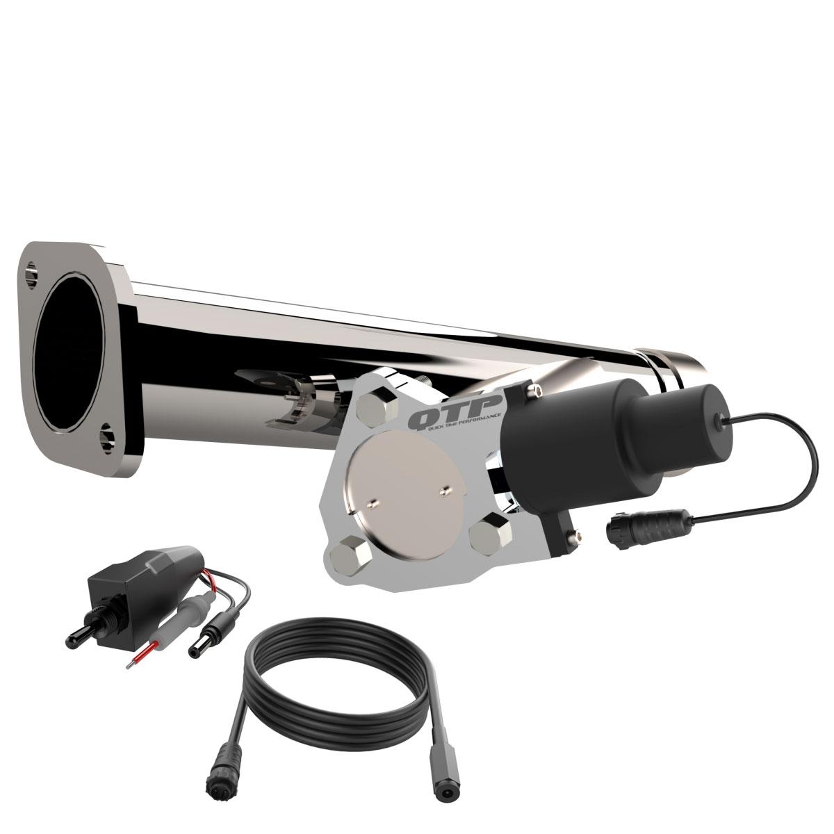 qtp screamer aggressor electronic exhaust cutout dodge ram 1500