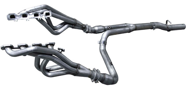american racing headers rm64 15134300lswc dodge ram 2500 6 4l 5 7l long system with cats 1 3 4in x 3in header pair 3in y pipe with cats 2015 2017