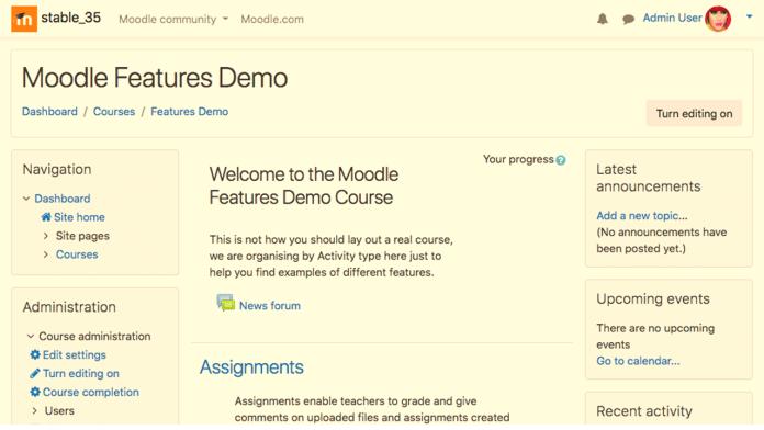 Use This Brand New Moodle Theme For A Return To 'Classic'
