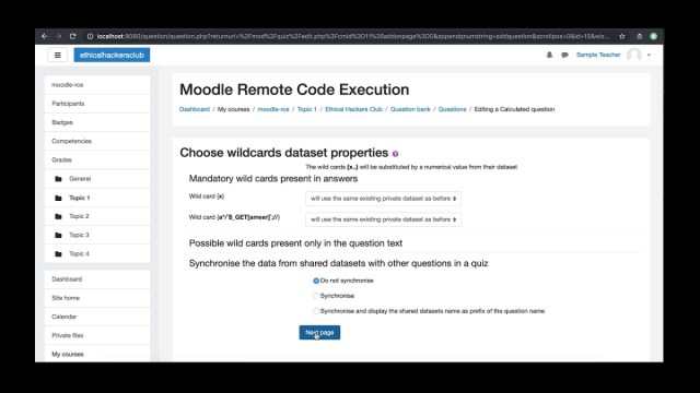 Exploiting Moodle For Remote Code Execution Best Open Lms Videos Of The Month Lmspulse