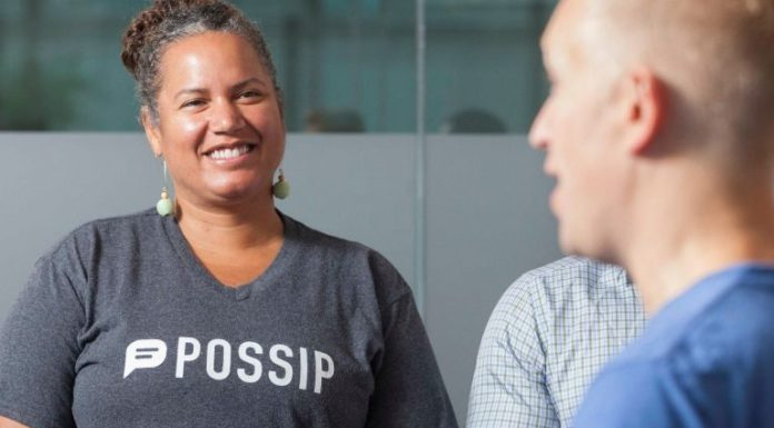 Possip founder and CEO Shani Dowell