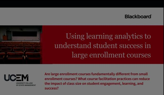 Blackboard Research Looks At Moodle Class Sizes Through X-Ray Vision | Investigación de Blackboard estudia tamaños de clase en Moodle
